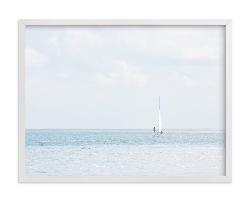 """""""Aimlessly"""" - Limited Edition Art Print by Alexandra Feo in beautiful frame options and a variety of sizes."""