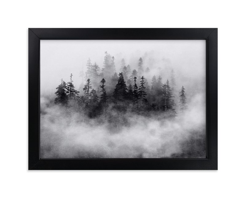"""""""Lost in the Fog"""" - Limited Edition Art Print by Mazing Designs in beautiful frame options and a variety of sizes."""