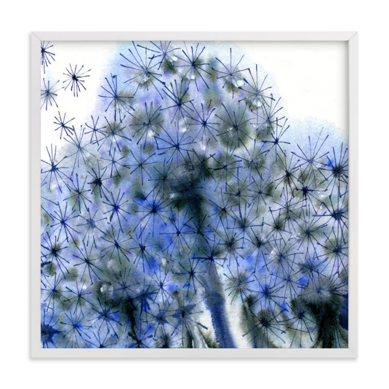 """""""Fairy Puffs"""" - Art Print by Me Amelia in beautiful frame options and a variety of sizes."""
