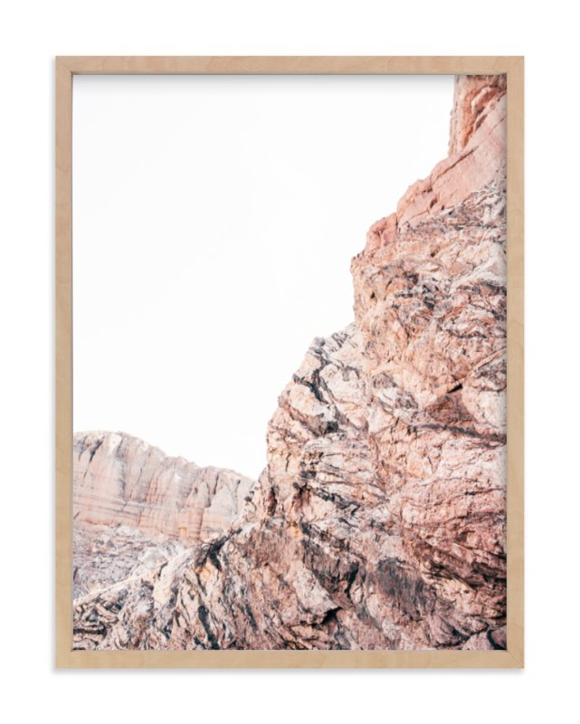 """""""Painted Canyon 1"""" - Art Print by Kamala Nahas in beautiful frame options and a variety of sizes."""