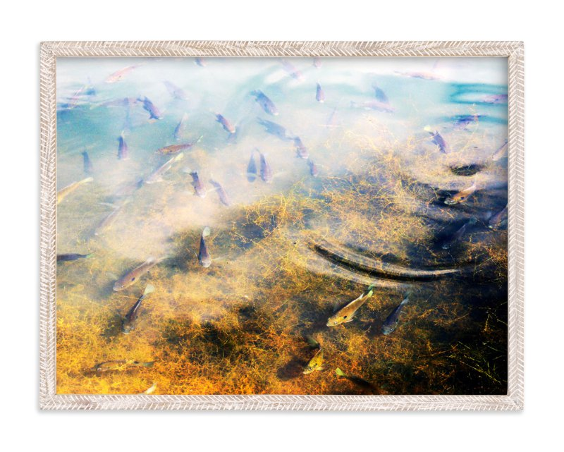 """Life At The Pond - Maryland"" - Art Print by Sonya F. Contino in beautiful frame options and a variety of sizes."