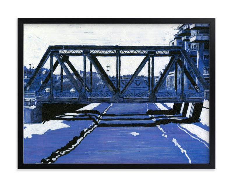 """""""Cherry Creek"""" - Art Print by Jeff Preuss in beautiful frame options and a variety of sizes."""