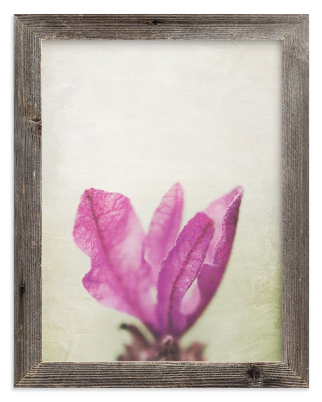 """Lavender tops"" - Art Print by Stacy Cooke in beautiful frame options and a variety of sizes."