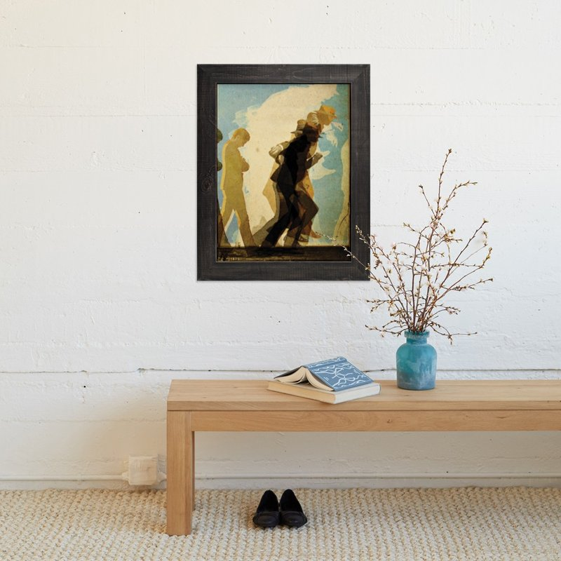 """After Muybridge"" - Art Print by Terrance Grace in beautiful frame options and a variety of sizes."
