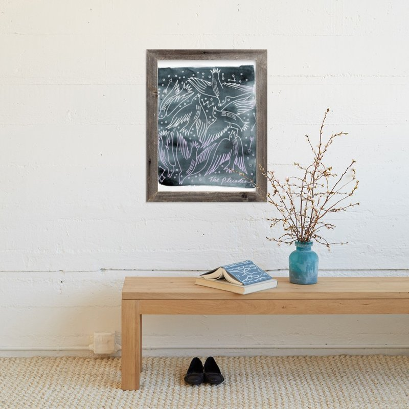 """""""The Pleiades"""" - Art Print by Eve Schultz in beautiful frame options and a variety of sizes."""