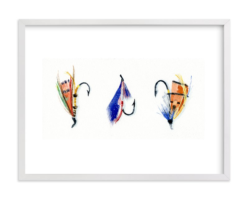 """On the Fly 4"" - Art Print by Stacey Brod in beautiful frame options and a variety of sizes."