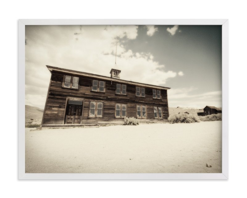 """Buildings of Bodie, CA :: III"" - Art Print by Kellie Medivitz in beautiful frame options and a variety of sizes."