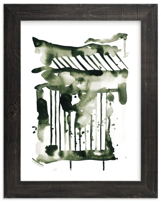 """Falling Strokes"" - Art Print by Kelsey McNatt in beautiful frame options and a variety of sizes."