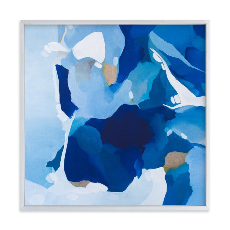 """Ocean Waves"" - Art Print by Art by Megan in beautiful frame options and a variety of sizes."