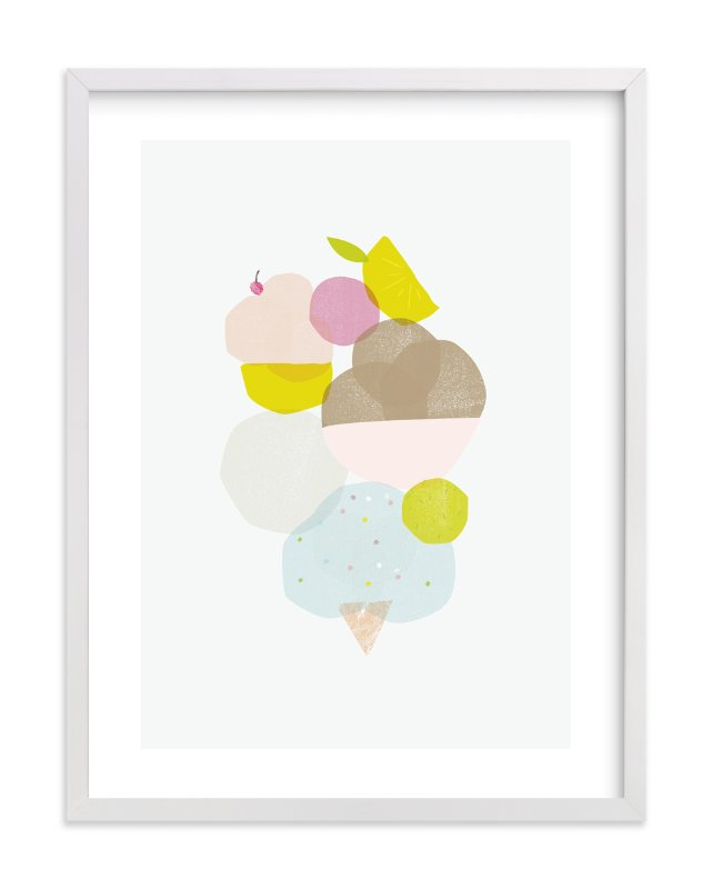 """Sweet"" - Limited Edition Art Print by Lori Wemple in beautiful frame options and a variety of sizes."