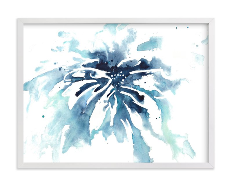 """""""Drenched"""" - Art Print by Mya Bessette in beautiful frame options and a variety of sizes."""