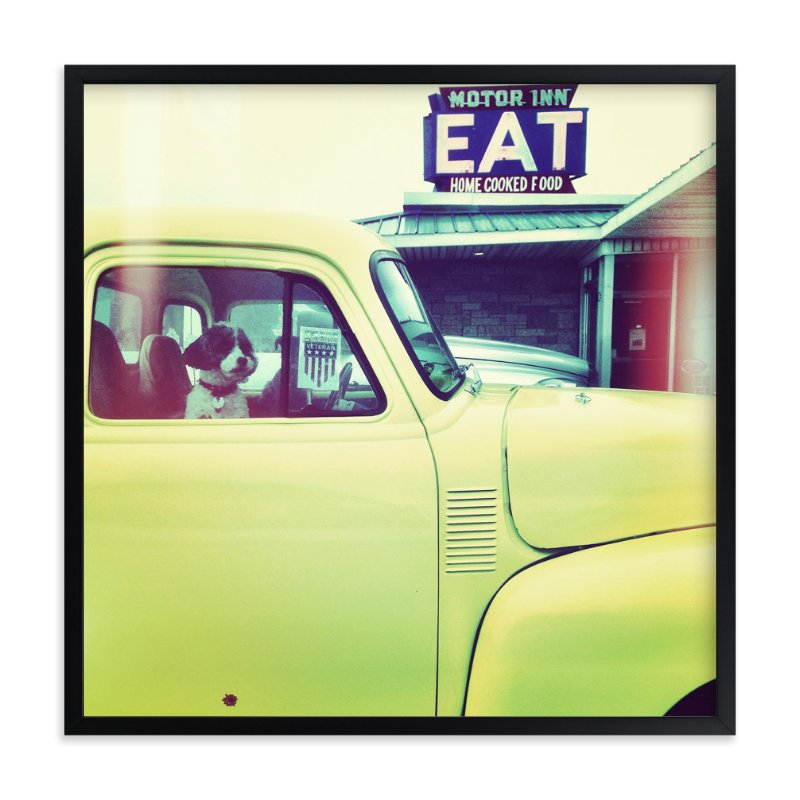 """""""Pit Stop"""" - Art Print by Misty Hughes in beautiful frame options and a variety of sizes."""