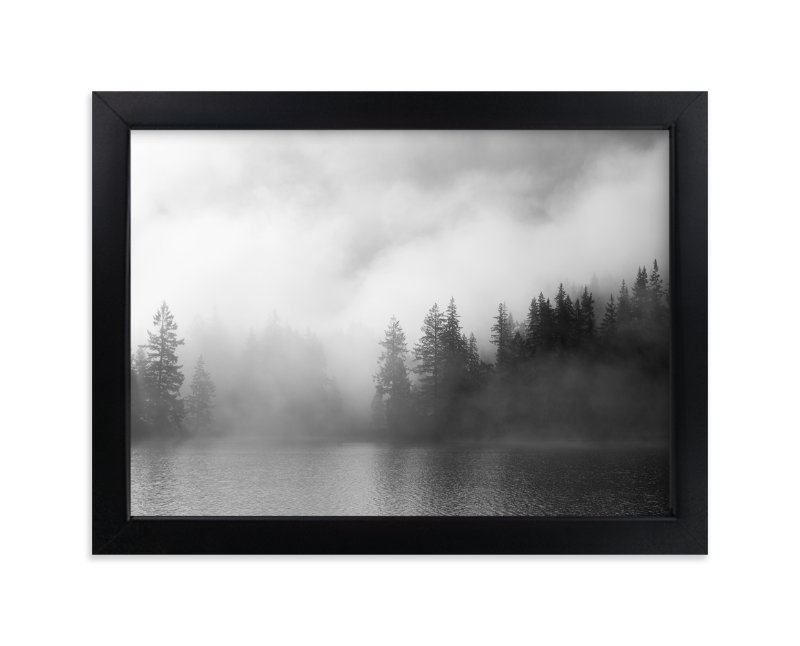 """""""Dark Fog"""" - Art Print by Jennifer Morrow in beautiful frame options and a variety of sizes."""