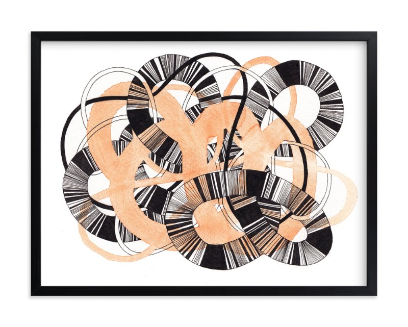 """Sandworm 3"" - Art Print by Jaime Derringer in beautiful frame options and a variety of sizes."