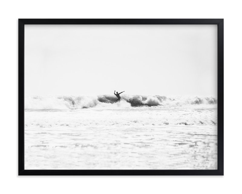 """""""east coast surf"""" - Art Print by Kaitie Bryant in beautiful frame options and a variety of sizes."""