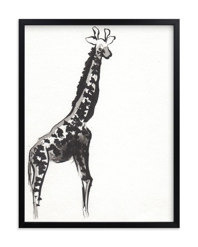 """Simply Curious"" - Art Print by Shawni Hogan in beautiful frame options and a variety of sizes."