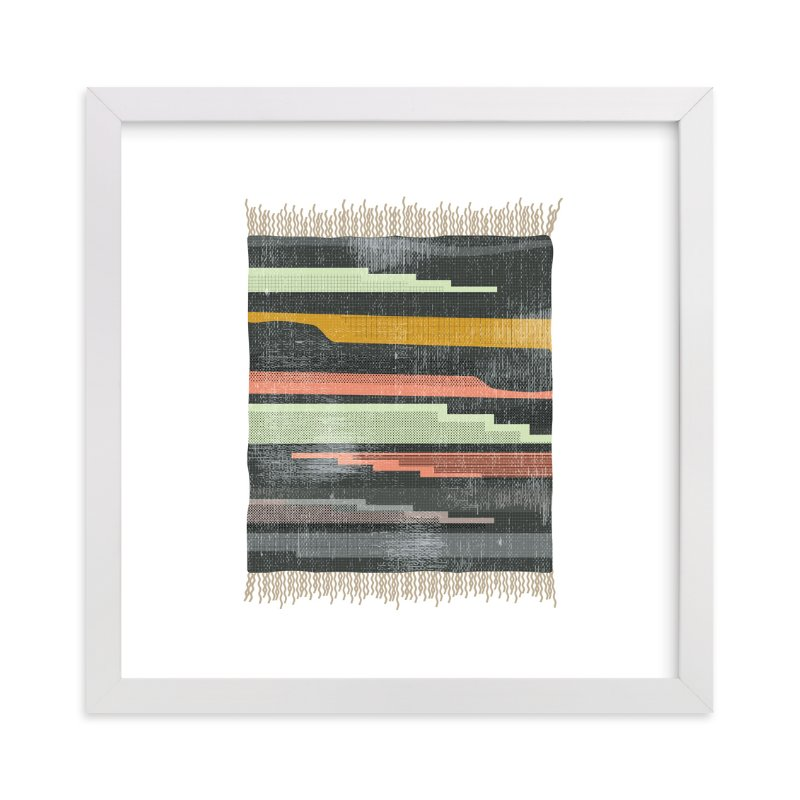 """""""Tapestry 5"""" - Art Print by Kate Capone aka Oh So Suite in beautiful frame options and a variety of sizes."""