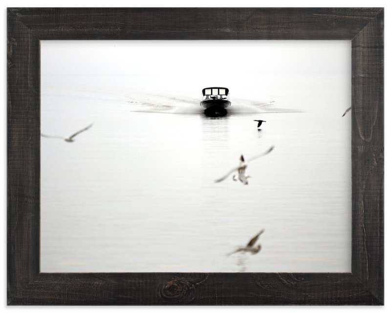 """""""Seagulls"""" - Art Print by Lisa Cersovsky in beautiful frame options and a variety of sizes."""