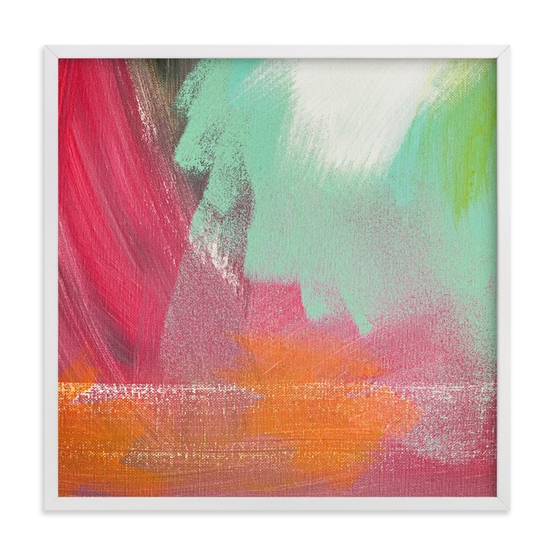 """""""We are Blending"""" - Art Print by Stacy Kron in beautiful frame options and a variety of sizes."""