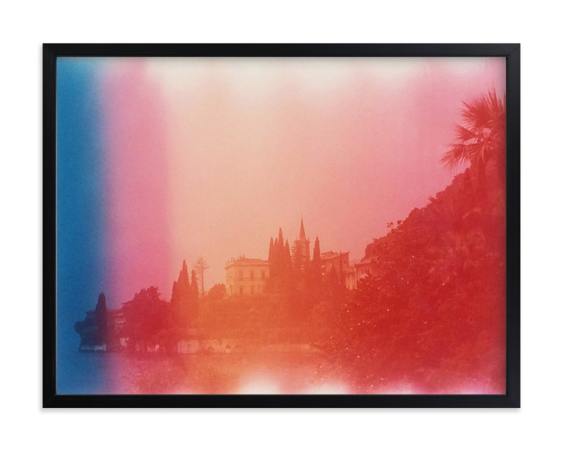 """Lake Como"" - Art Print by John Sposato in beautiful frame options and a variety of sizes."
