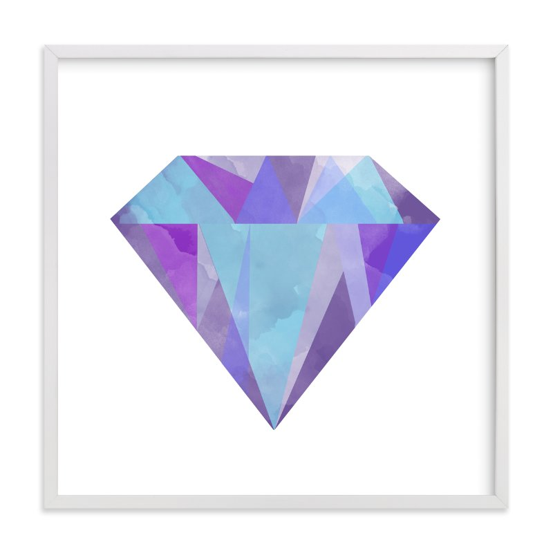 """Gemstone"" - Limited Edition Art Print by Refound Nostalgia in beautiful frame options and a variety of sizes."