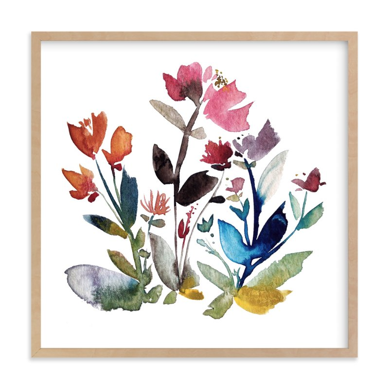 """island wildflowers no.3"" - Art Print by Kiana Mosley in beautiful frame options and a variety of sizes."