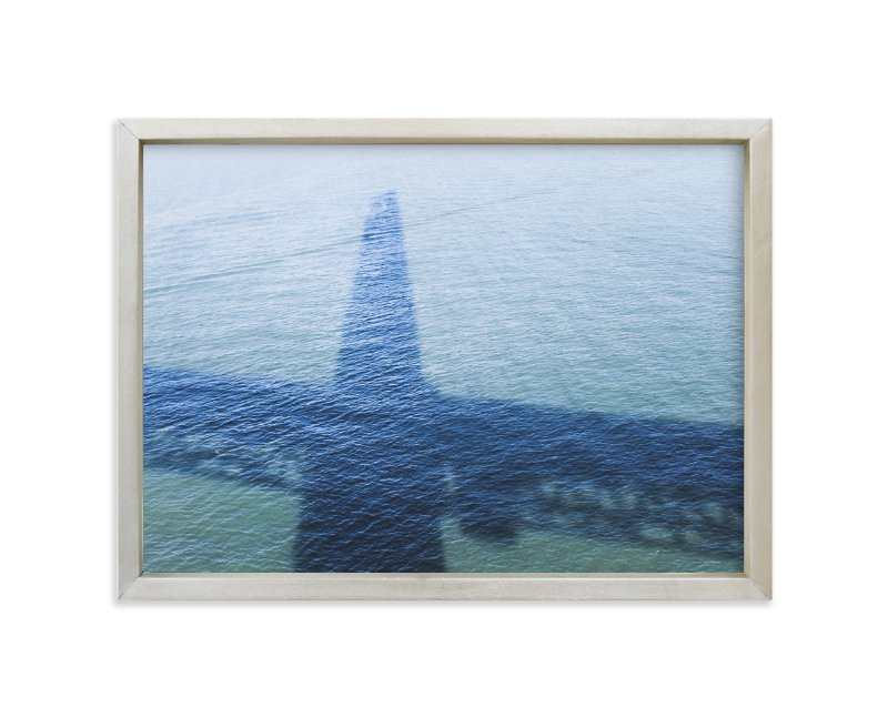 """Golden Gate Shadow"" - Art Print by Annie Montgomery in beautiful frame options and a variety of sizes."