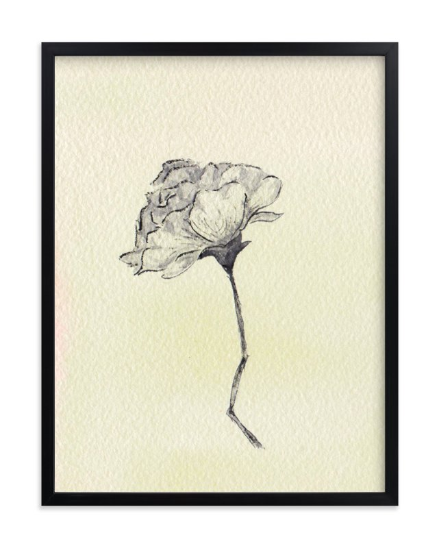 """Botanical Study I"" - Art Print by Kate Wong in beautiful frame options and a variety of sizes."