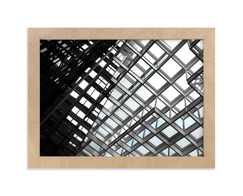 """""""Framing Sky"""" - Art Print by van tsao in beautiful frame options and a variety of sizes."""