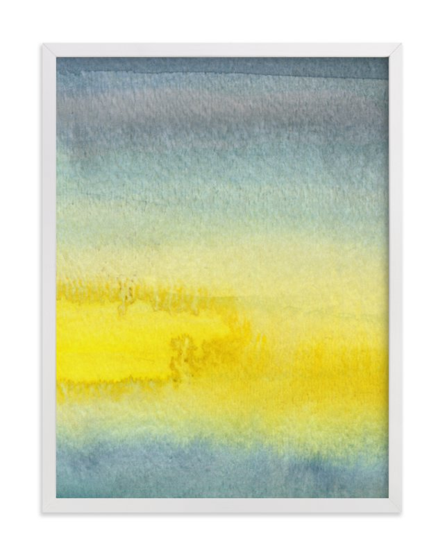 """Sun and Clouds"" - Art Print by Katherine Moynagh in beautiful frame options and a variety of sizes."