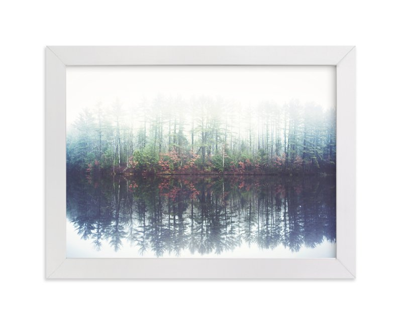 """""""Reflecting Amongst The Fog And Light"""" - Art Print by Smile Peace Love in beautiful frame options and a variety of sizes."""