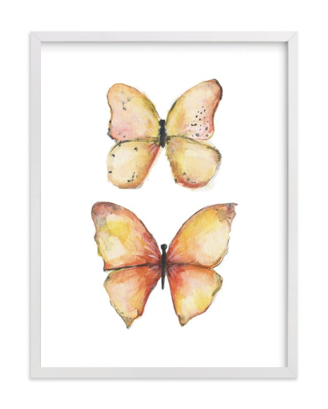 """Rhopalocera One"" - Art Print by Erin Deegan in beautiful frame options and a variety of sizes."