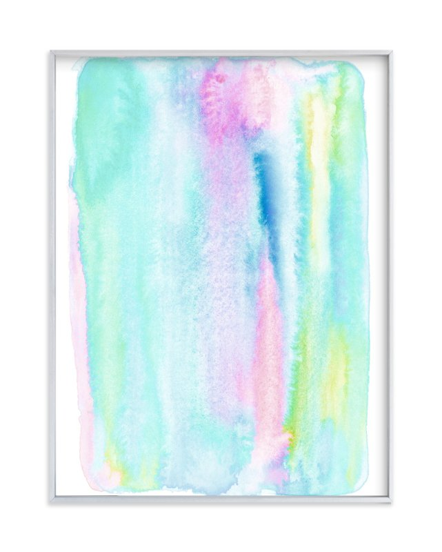 """Candy Calm"" - Art Print by Belia Simm in beautiful frame options and a variety of sizes."