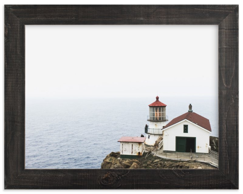 """""""The Lighthouse"""" - Art Print by Annie Montgomery in beautiful frame options and a variety of sizes."""
