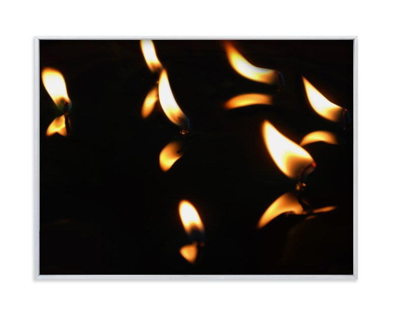 """""""Candlelights"""" - Art Print by Belia Simm in beautiful frame options and a variety of sizes."""