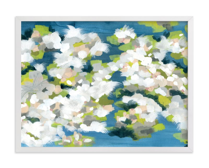 """Verdant"" - Art Print by Denise Wong in beautiful frame options and a variety of sizes."