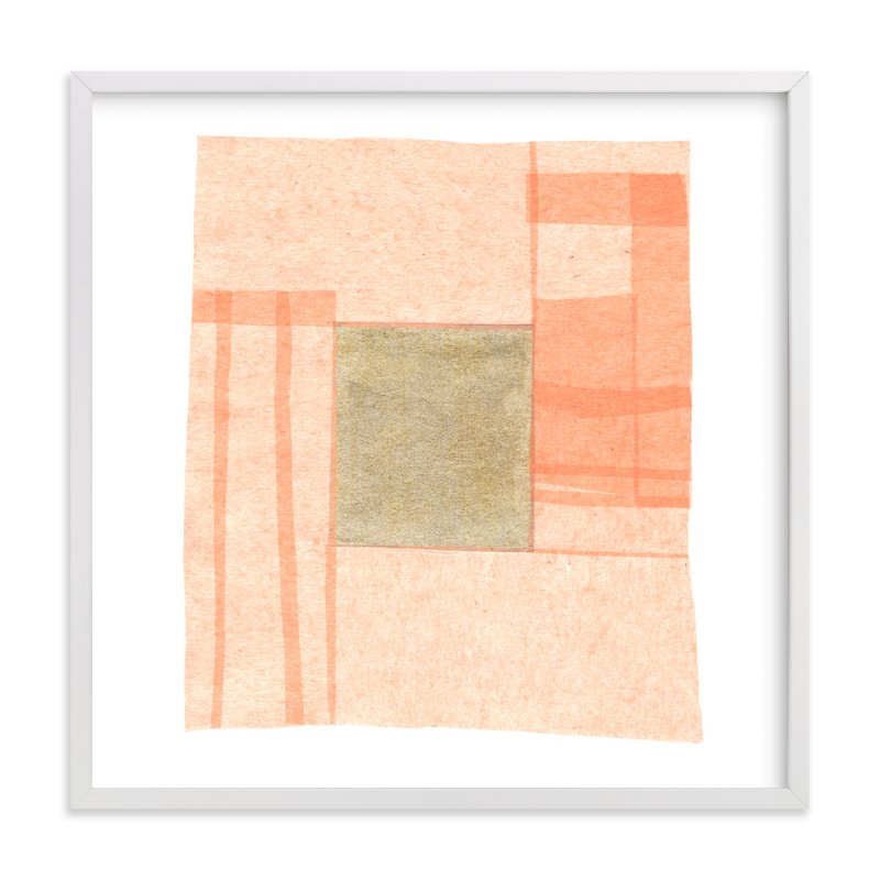 """""""Abstract Muted 1"""" - Art Print by Kelly Nasuta in beautiful frame options and a variety of sizes."""