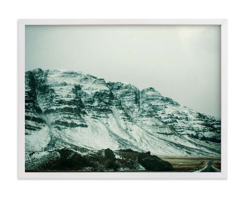 """""""A Snowy Pass"""" - Art Print by Casey Fyfe in beautiful frame options and a variety of sizes."""