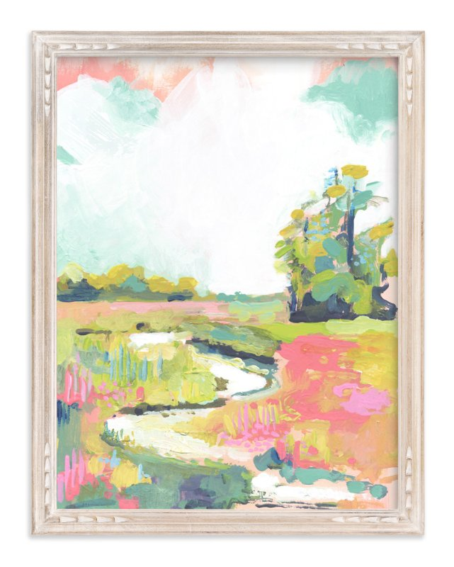 """Kiawah"" - Art Print by Makewells in beautiful frame options and a variety of sizes."