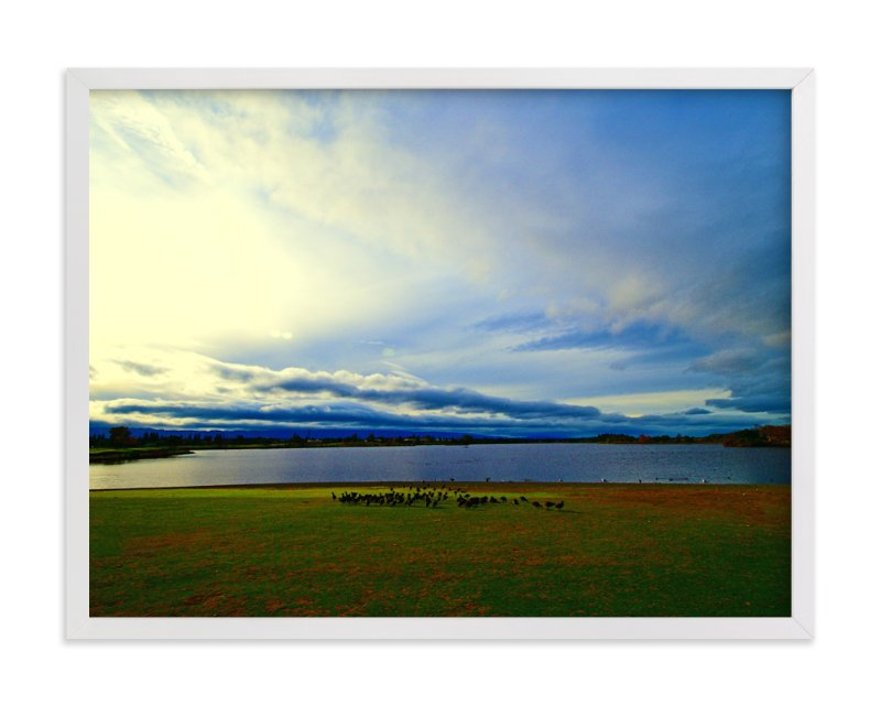 """""""Shoreline"""" - Art Print by NSMARK in beautiful frame options and a variety of sizes."""