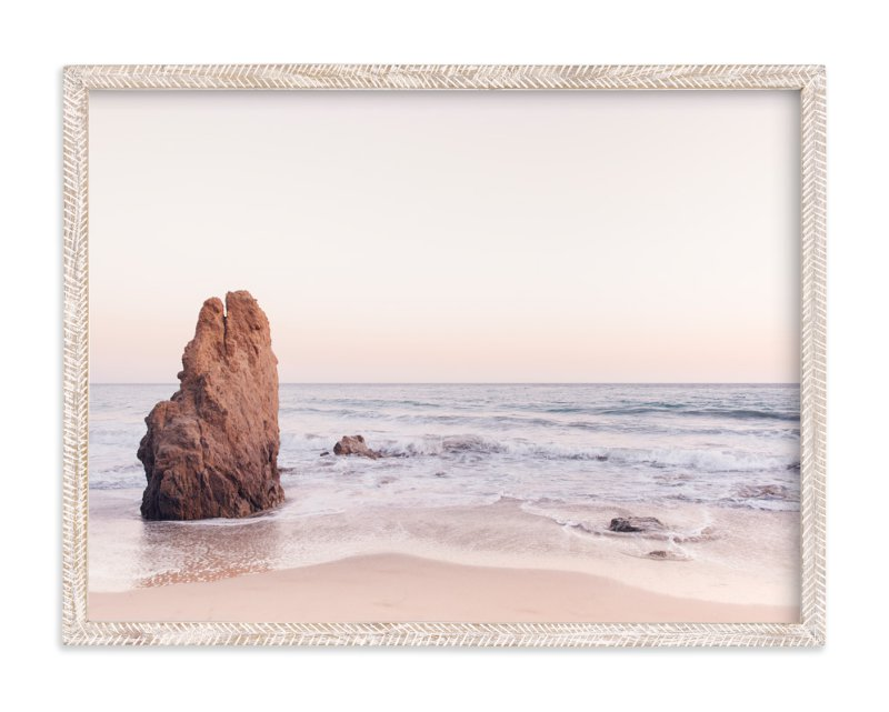 """Malibu View No. 2"" - Art Print by Kamala Nahas in beautiful frame options and a variety of sizes."
