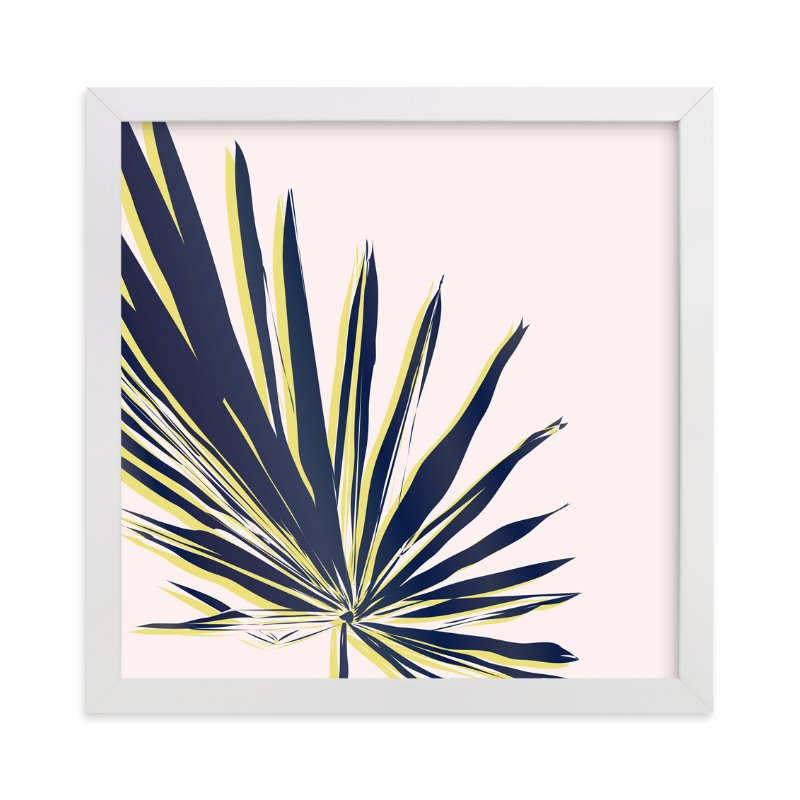 """""""Palm Study #1"""" - Art Print by Cindy Lackey in beautiful frame options and a variety of sizes."""