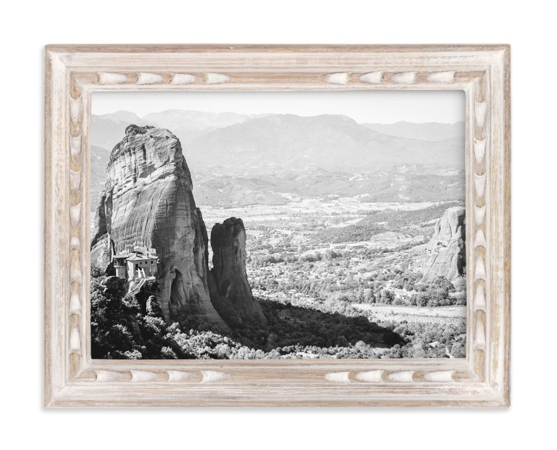 """Castle in the Sky No 1"" - Art Print by Qing Ji in beautiful frame options and a variety of sizes."