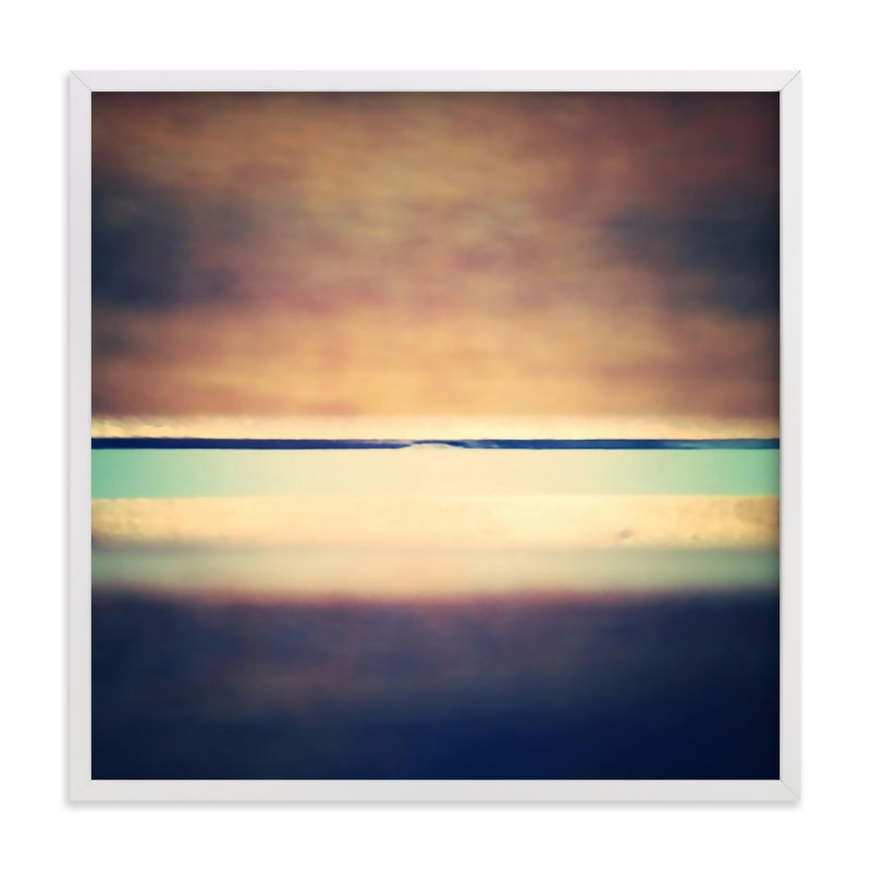 """""""Cedar Sunrise"""" - Art Print by Alayne Richardson in beautiful frame options and a variety of sizes."""