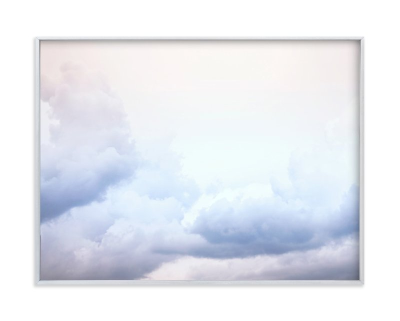 """""""Serenity Scape I"""" - Art Print by Karen Kaul in beautiful frame options and a variety of sizes."""