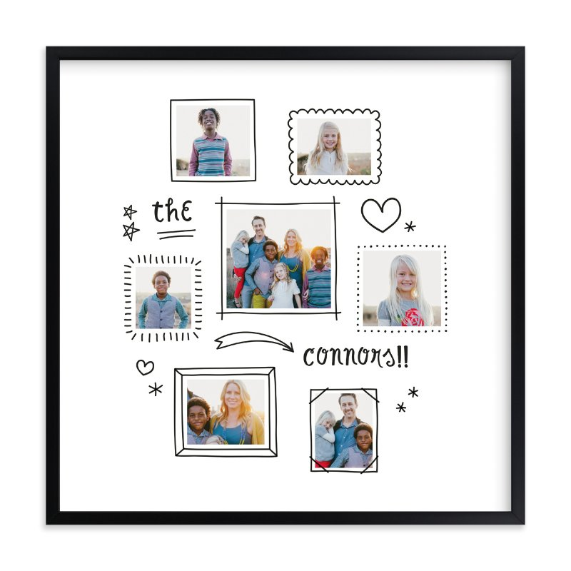 """""""Graffiti"""" - Children's Custom Photo Art Print by Up Up Creative in beautiful frame options and a variety of sizes."""