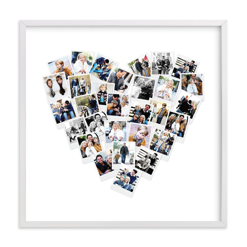 Heart Snapshot Mix® Photo Art Wall Art Prints By Minted | Minted