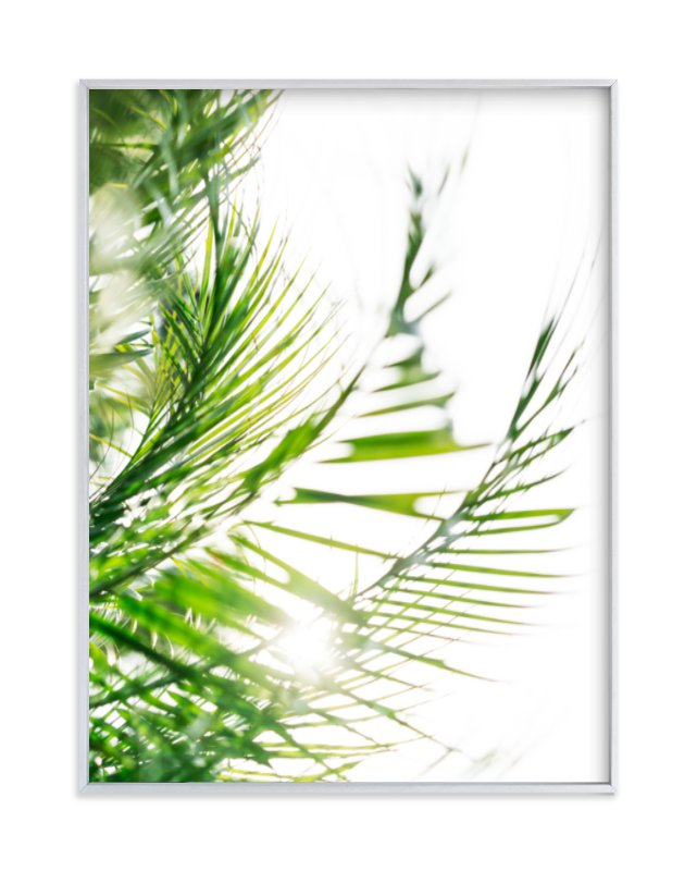 """Palm 2"" - Art Print by Kamala Nahas in beautiful frame options and a variety of sizes."