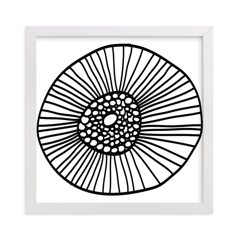 """lines & circles"" - Art Print by aticnomar in beautiful frame options and a variety of sizes."