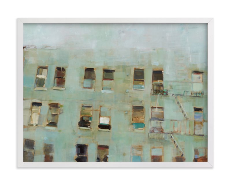 """""""Windows"""" - Art Print by Hadas Tal in beautiful frame options and a variety of sizes."""